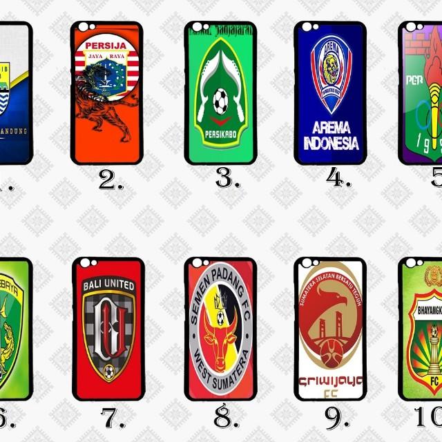 Case Club Bola Indonesia Series Berbagai Macam Type Hp