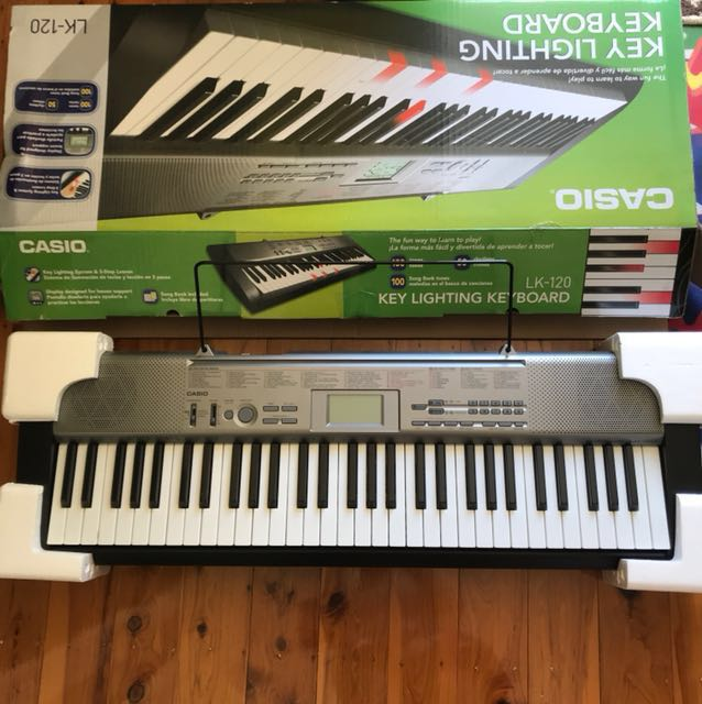 Casio Light-Up Piano Keyboard