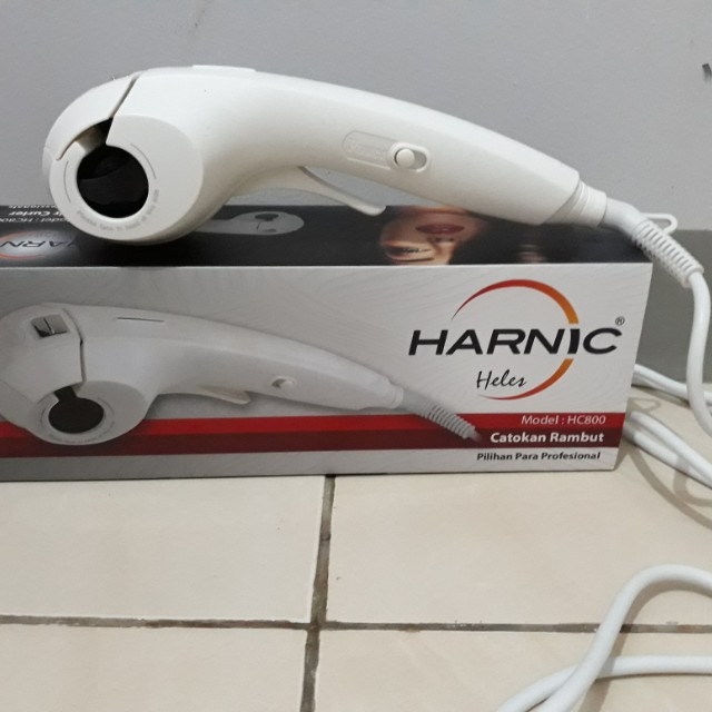 Catok curly automatic harnic