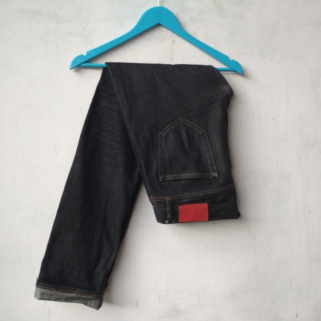 Celana Panjang Uniqlo Premium Denim Selvedge