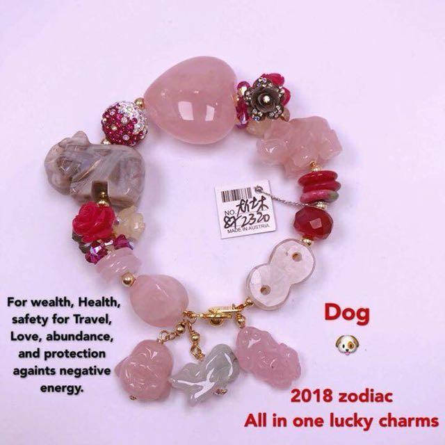 Chinese Lucky Luxury Charm Bracelet