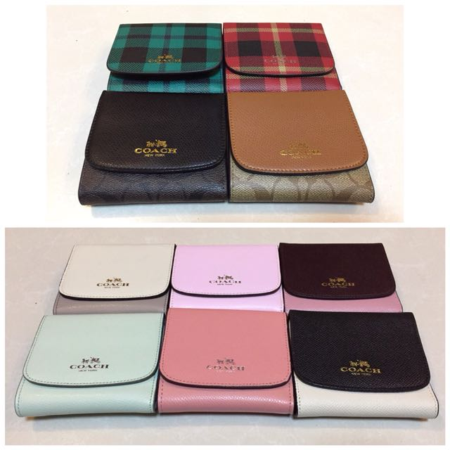 Coach small wallet plus shipping fee
