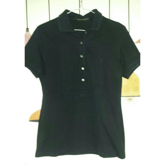 COLLEZIONE Black Poloshirt