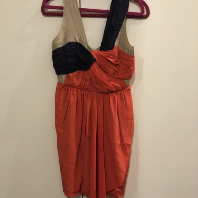 Country road silk dress size 4