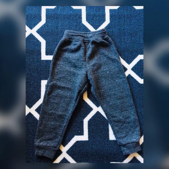 Dark grey boy jogger pants