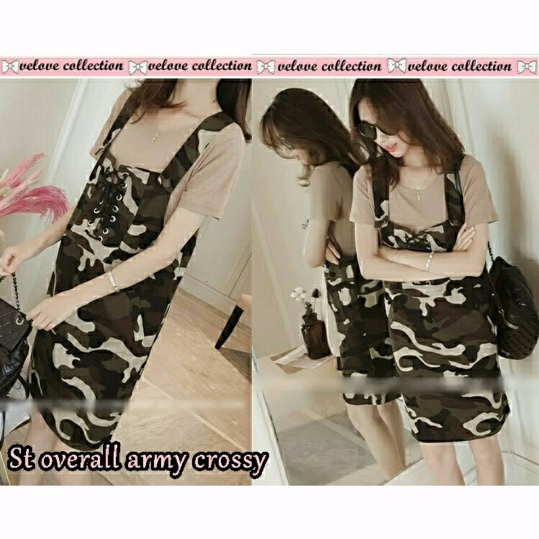 DC STELAN OVERALL ARMY