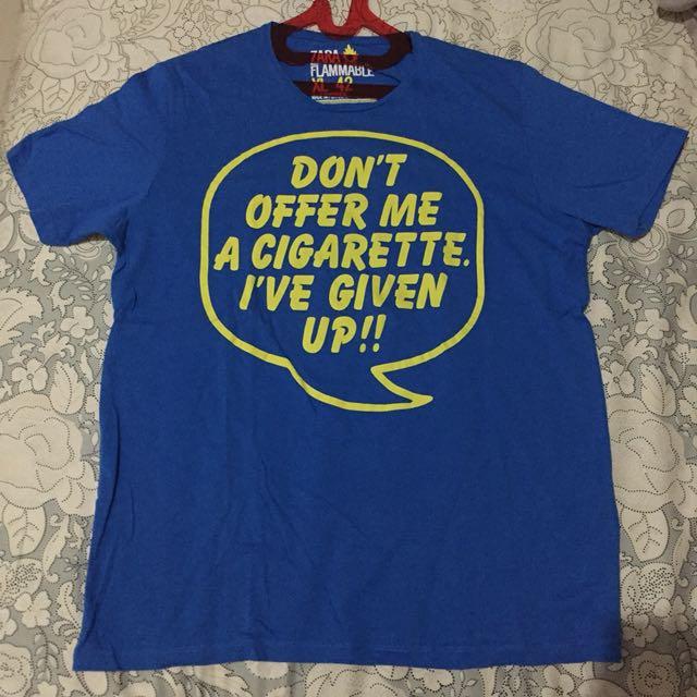 Dont offer me cigarette tee