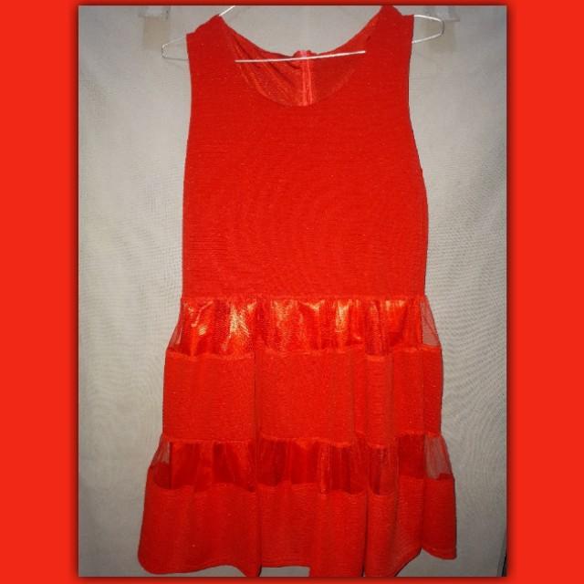 Dress bangkok merah