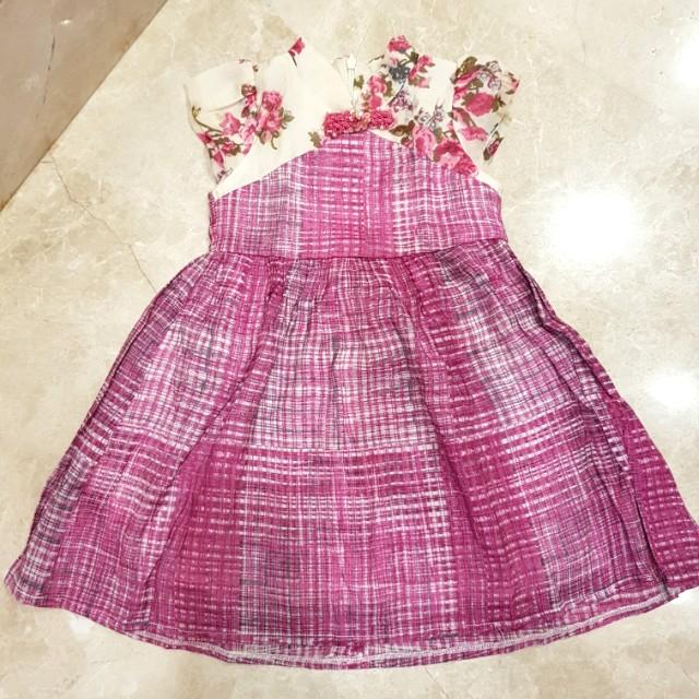 Dress Bubble Girl 2 thn