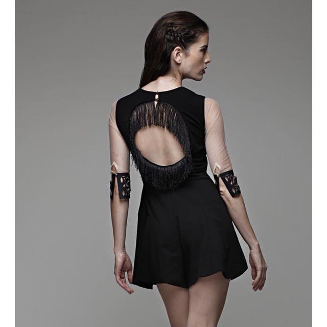 40fc5c11293 Duchess co Tassel Jumpsuit (Black)