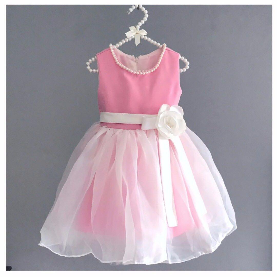 Hermosa Girls Party Dresses Age 3 Patrón - Colección de Vestidos de ...