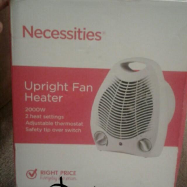 Fan/heater fan