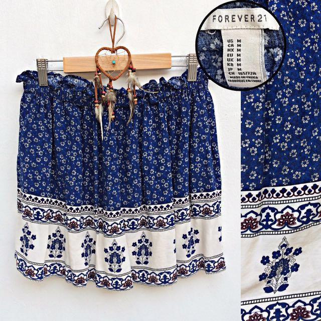Forever 21 Bohemian Skirt
