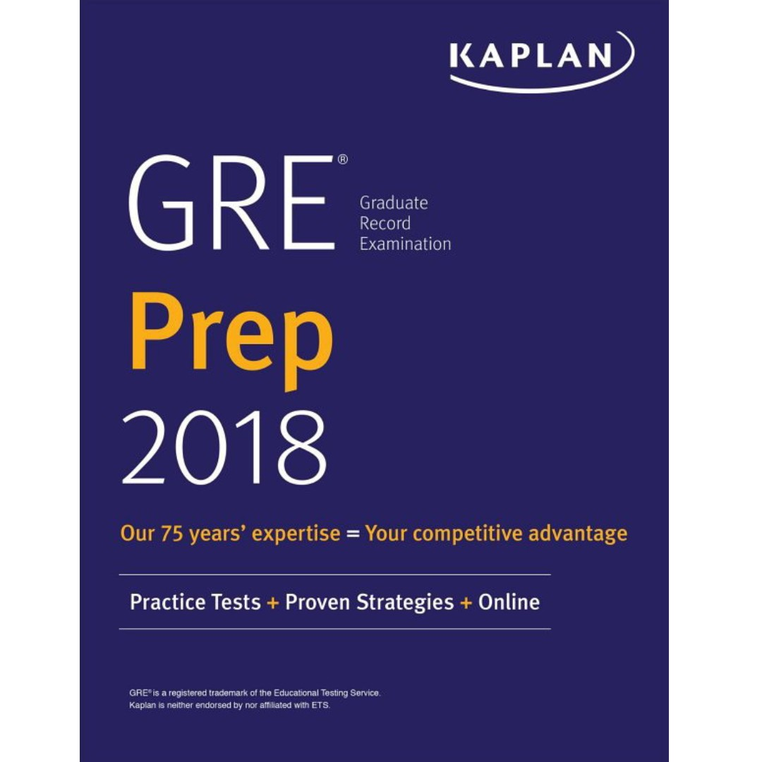 GRE Prep 2018 Practice Tests + Proven Strategies