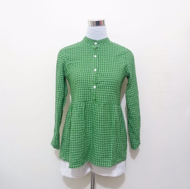 Green checkered LS