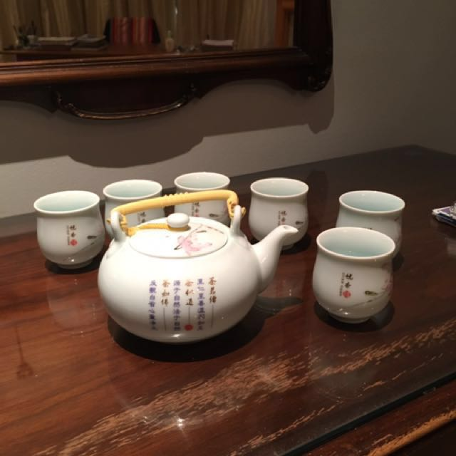 Hand Painted Chinese Tea Set