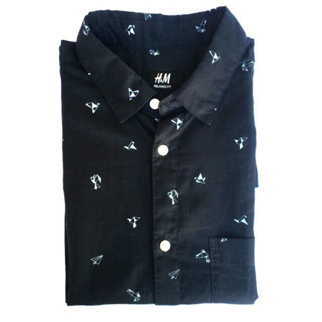 H&M Black Polo Longsleeves