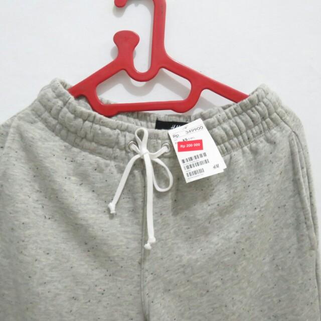H&M sweetpants free kemeja