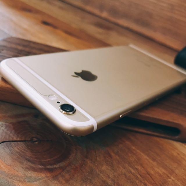 【免運+送全新充電線】售iPhone 6 64G 金色 限量限時1支出售