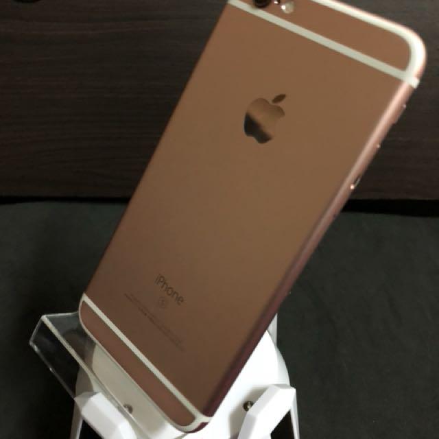 Iphone 6s64粉無傷