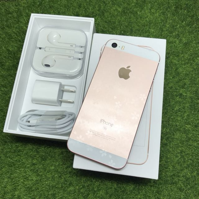 iPhone SE 64GB Battery good good condition