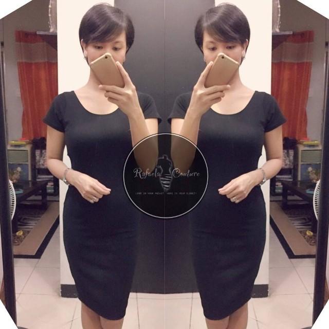 Jellie LOW BACK Bodycon Dress
