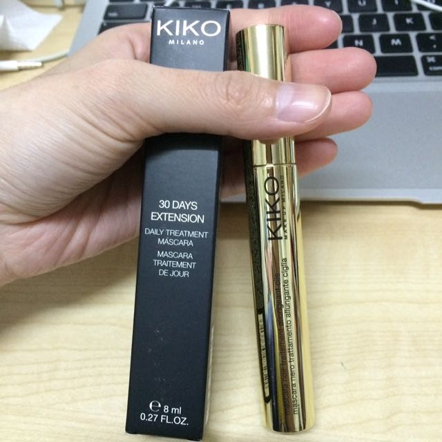 Kiko Milano daily treatment mascara