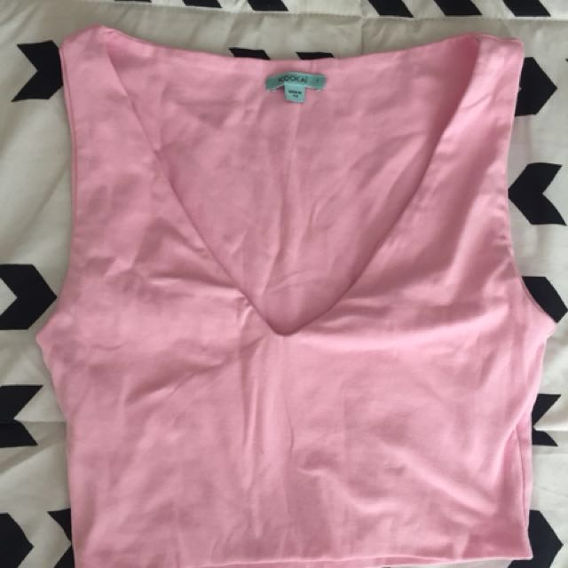 Kookai Pink Crop