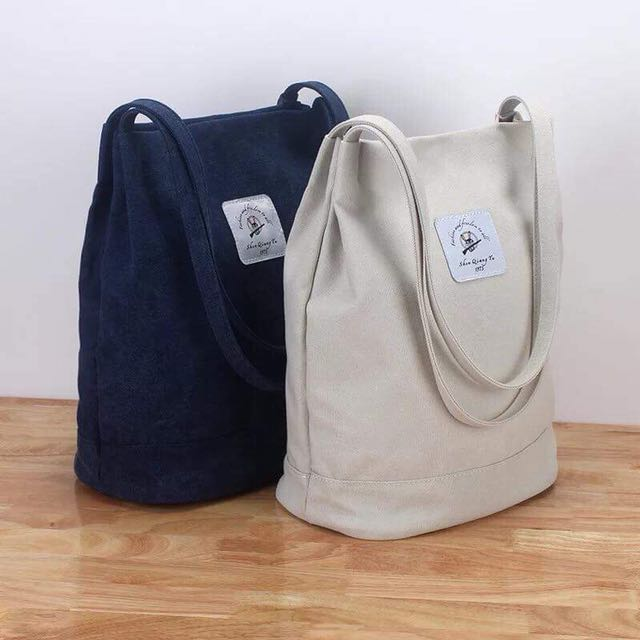 Korean denim bag