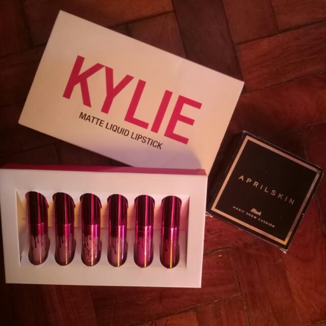 Kylie Lipcream and April Skin cushion (bundle sale)