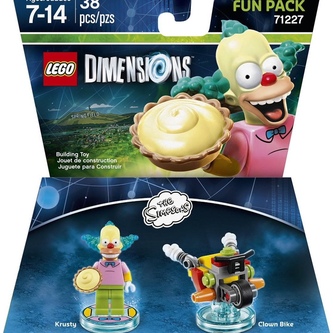 Lego Dimensions 71227 Fun Pack - The Simpsons - Krusty and the Clown Bike