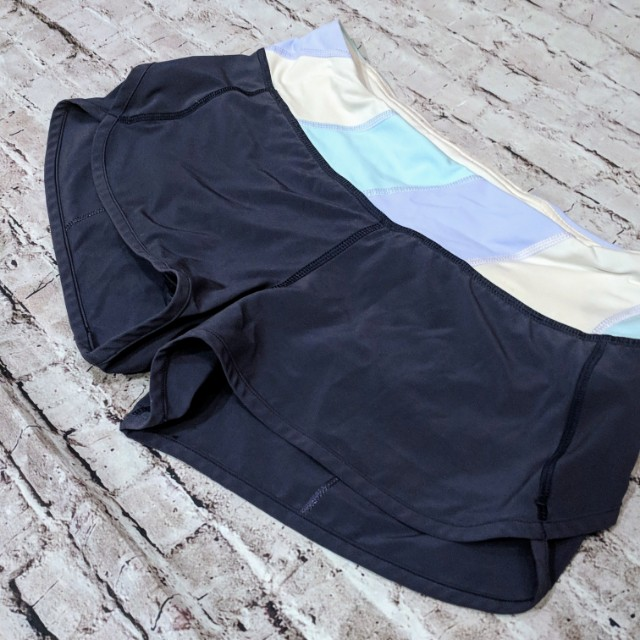 Lululemon sz 4 Speed.shorts in cadet blue