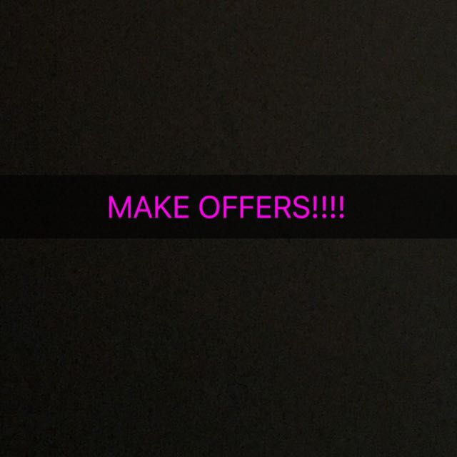 MAKE OFFERSSSS!!!! NEED TO GET RID OF STUFF, I ALSO DO SWAPS