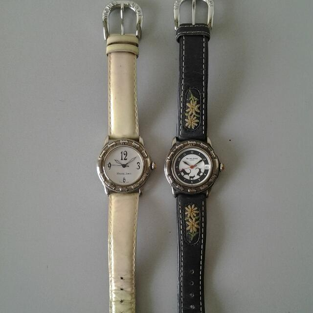 Michel Jordi watches (Swiss made) (pre-loved)