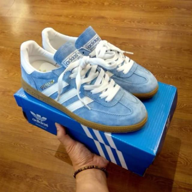 super cheap recognized brands brand new Mirror BNIB) Adidas Spezial Suede Blue Gum, Men's Fashion ...