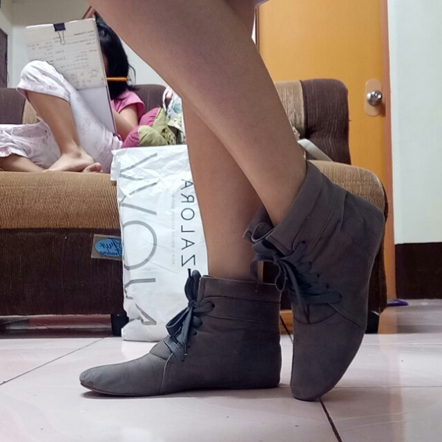 Mishka Suede Boots (lace-up)