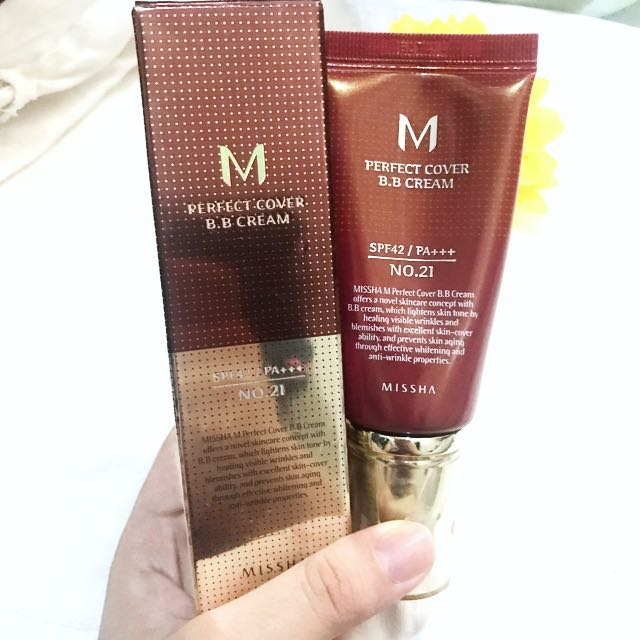 Missha Perfect Cover BB Cream Free Shipping plus Freebies