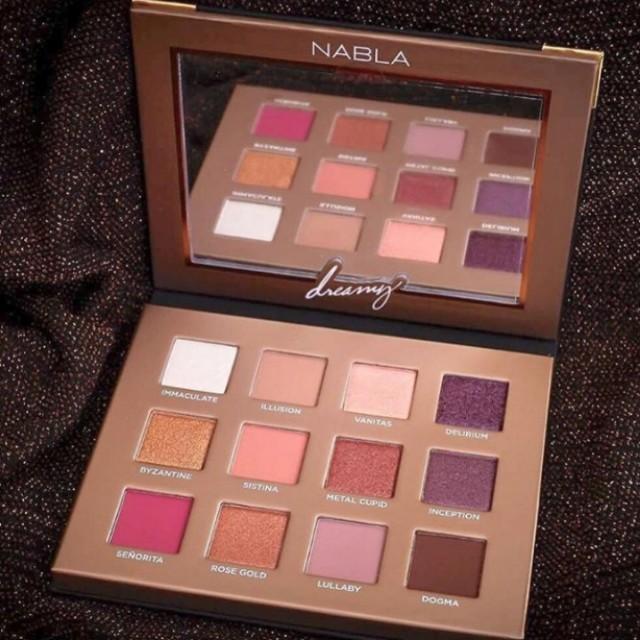 [READY STOCK] Nabla Cosmetics Dreamy Eyeshadow Palette