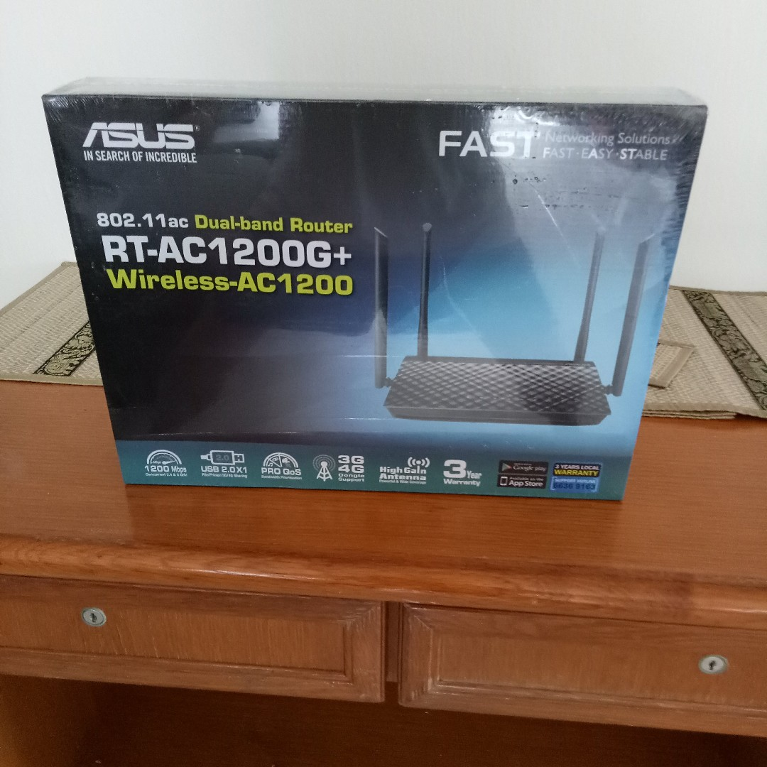 New Asus AC 1200 Enhanced AC performance router.