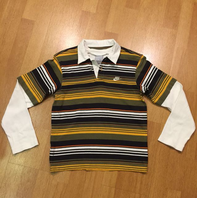 Nike Rugby Styled Cotton Collared Shirt