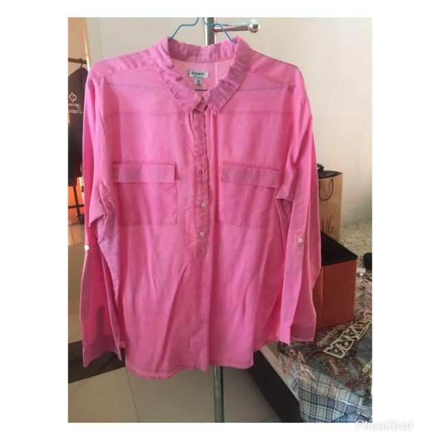 OLD NAVY OLDNAVY women blouse shirt pakaian wanita atasan blus kemeja