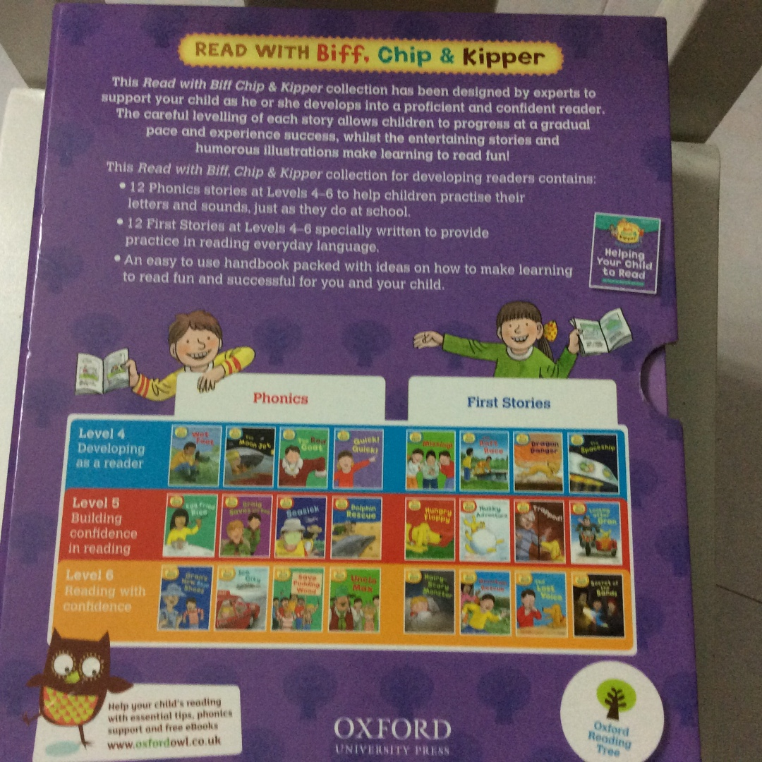 Workbooks oxford reading tree workbooks : Oxford Reading Tree, Books & Stationery, Children's Books on Carousell