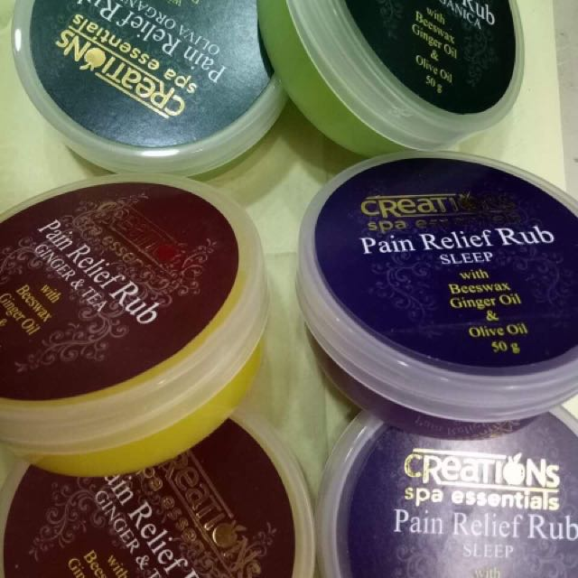 Pain relief Rub