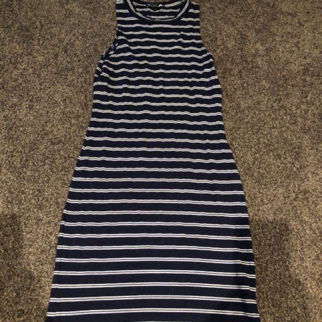 Paré Basic striped dress