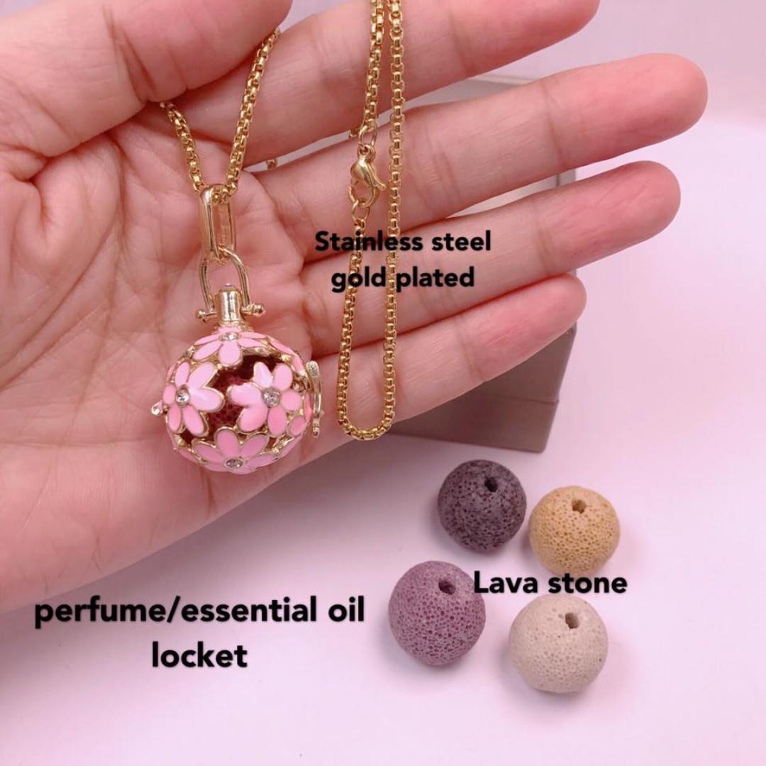 perfume/essential oil locket
