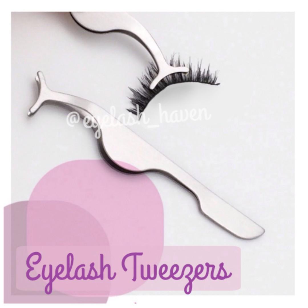 Pinset Bulumata / Eyelash Tweezers