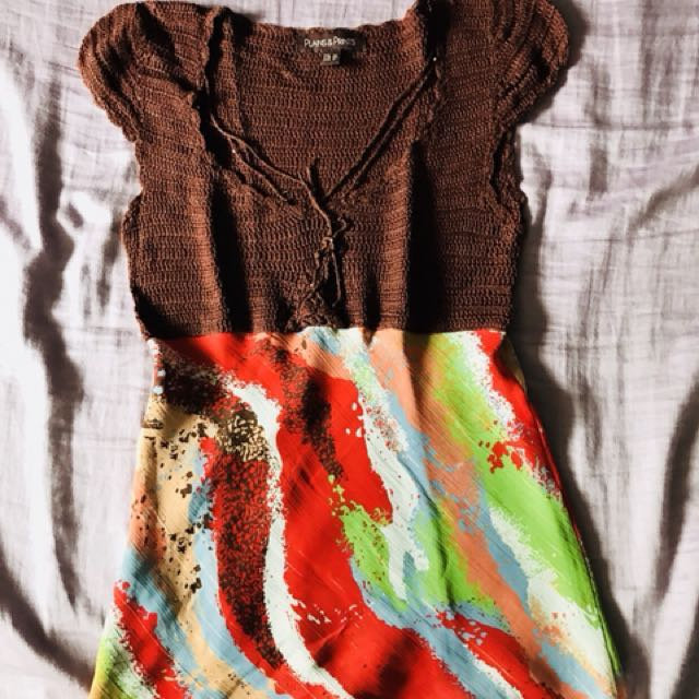Plains & Prints top