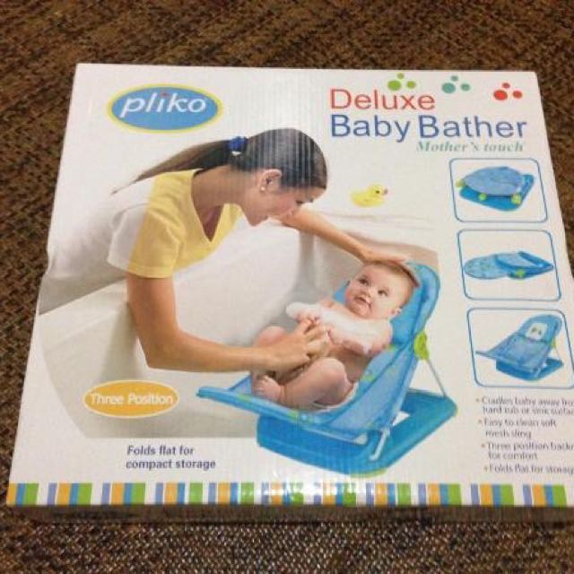 Pliko Deluxe Baby Bather - Blue