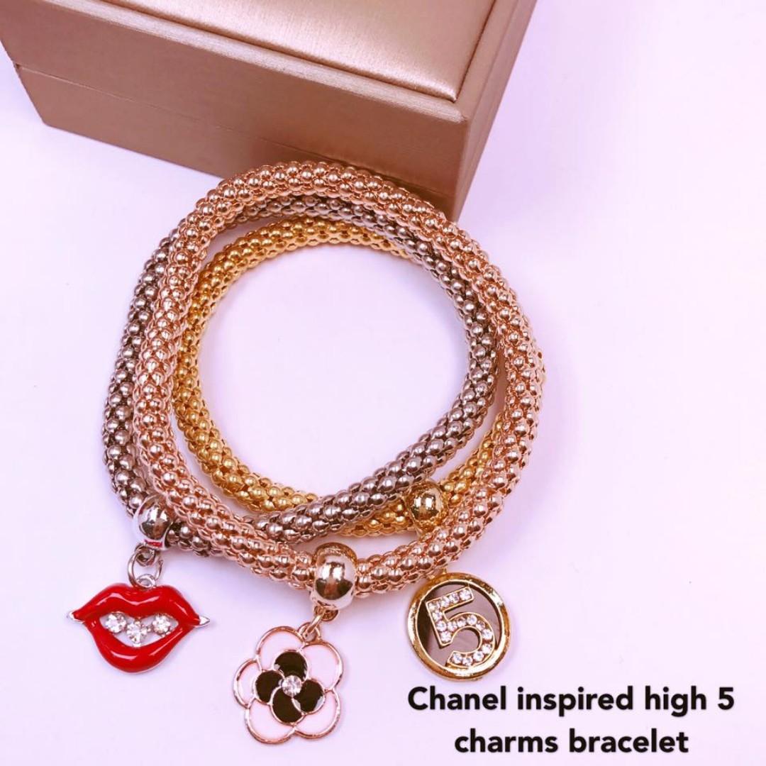 popcorn 3 in1 charms bracelet