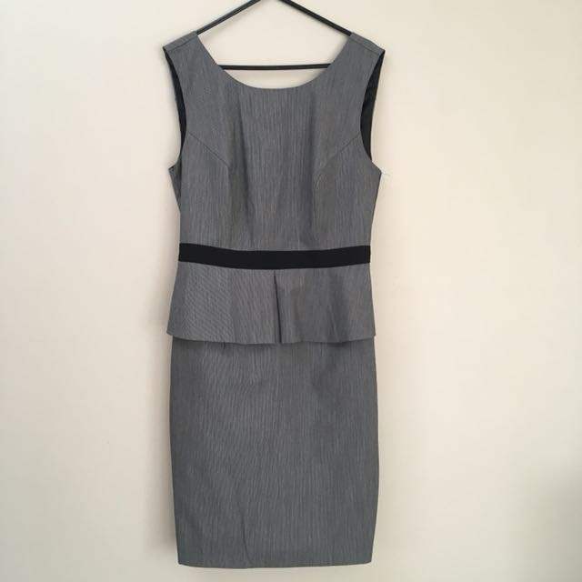 Portmans Grey Corporate Dress